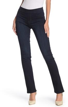 Liverpool Jeans Co Jillian Pull-On Straight Leg Jeans (Estrella Med Dark)