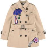 Burberry Girl Trenchcoat - Heritage Line - Sandringham range with fancy patches