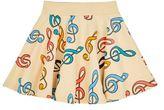 Mini Rodini Musical Note Print Skirt