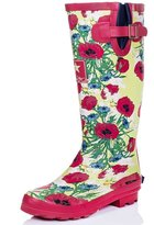 Spylovebuy Knee High Flat Welly Rain Boots Sz 10