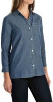 Woolrich Fairview Denim Shirt - Cotton-TENCEL®, Long Sleeve (For Women)