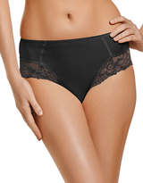 Jockey Microfiber Shaping Hi Cut panty with Lace Style 7707