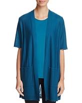 Eileen Fisher Short Sleeve Open Cardigan