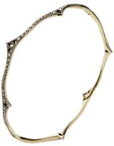 Mizuki Cutout Wavy Bangle Bracelet