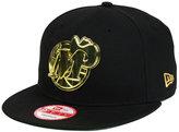 New Era Dallas Mavericks HWC League O'Gold 9FIFTY Snapback Cap