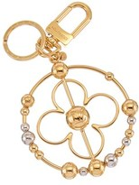 Louis Vuitton Gold-tone Party Monogram Bag Charm.