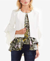 Vince Camuto Lace-Up Sleeve Jacket