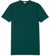 Zimmerli Stretch Modal-blend T-shirt - Green