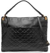 Marc by Marc Jacobs Paneled textured-leather shoulder bag
