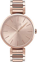 BOSS 1502418 Allusion rose gold-toned stainless steel watch