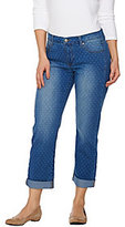 As Is Women with Control My Wonder Denim Polka Dot Boyfriend Jeans