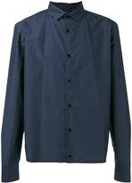Kolor cropped shirt - men - Cotton/Nylon - 3