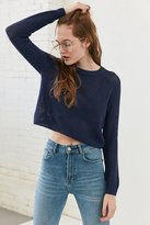 Silence & Noise Silence + Noise Open Stitch Raglan Sleeve Sweater