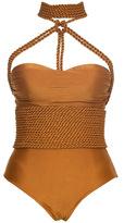 Lenny Niemeyer Shibari Rope Maillot Swimsuit
