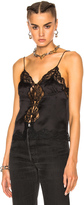 Alexander Wang Button Down Cami Lace Top