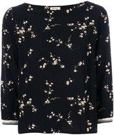 Bellerose floral print blouse