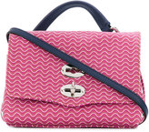 Zanellato baby Postina printed crossbody bag - women - Leather - One Size