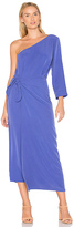 Mara Hoffman Shirley One Shoulder Dress in Purple. - size 0 (also in 2,4,6,8)