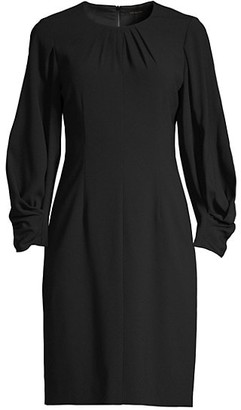 Kobi Halperin Jemima Ruched-Sleeve Dress