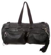 Christian Dior Leather Duffle Bag