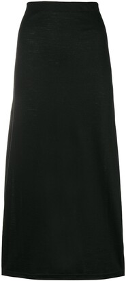 Comme des Garcons Pre-Owned straight midi skirt