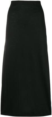 Comme Des Garçons Pre-Owned Straight Midi Skirt