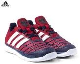 adidas Red Marvel Spiderman Trainers