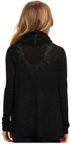 DKNY Sweater Knit Snap and Wrap Cozy