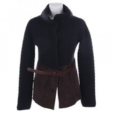 Agnona Black Wool Jacket for Women