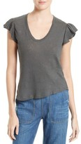 Rebecca Taylor Women's Washed Texture Jersey Tee
