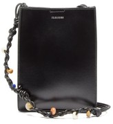 Jil Sander Tangle Small Braided-strap Leather Cross-body Bag - Womens - Black