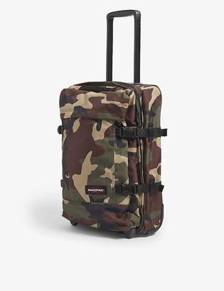 Eastpak Tranverz S camouflage-print nylon suitcase 51cm