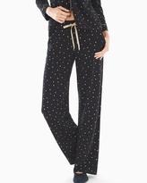 Soma Intimates Embraceable Pajama Pants Festive Dot Mini Black