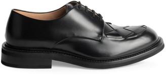 Bottega Veneta Douglas Intrecciato Leather Dress Shoes