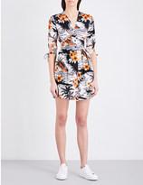 Maje Rolina crepe dress