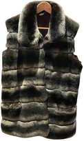 SAM. Rone Grey Fur Coat for Women