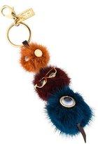 Sophie Hulme Jones Mink Fur Keychain