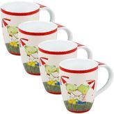 Konitz Frog Couple Mugs (Set of 4)