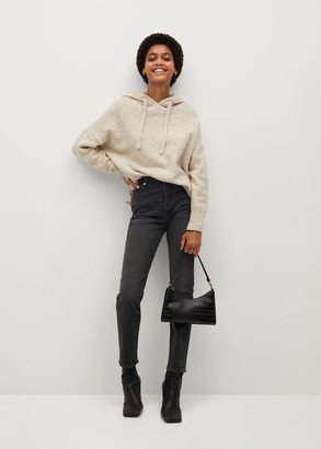 MANGO Slim-fit high waist jeans