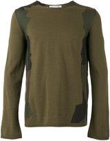 Comme des Garcons crew neck jumper - men - Acrylic/Wool - L