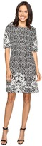 Christin Michaels Atlanta Jacquard Dress