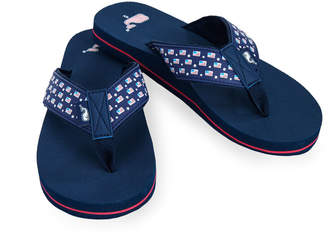 Vineyard Vines Flags & Stars Classic Flip Flops