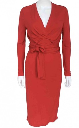 Issa Red Viscose Dresses