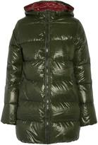 Duvetica Kappa hooded padded shell down coat