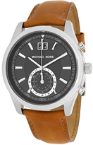 Michael Kors MK8416 Men's Aiden Brown Leather Watch with Chronograph