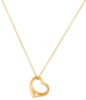 5e8e3657ba Open Heart Chain Necklace - ShopStyle