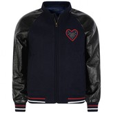 Ikks IKKSGirls Navy Love Heart Jacket