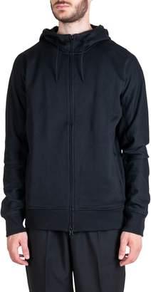 Y-3 Y 3 Classic Cotton Hooded Sweatshirt Jacket Black