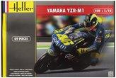 Heller Maquette plastique a assembler d'une moto au 1/72eme : la Yamaha YZR-M1 2004. 69 pieces. Dimensions de la maquette montée : 17, 4 x 6. Peintures, colle et pinceau fournis - Garçon et Fille - 14 ans et plus - Livré a l'unité