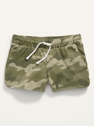 Old Navy Printed Dolphin-Hem Jersey Shorts for Girls